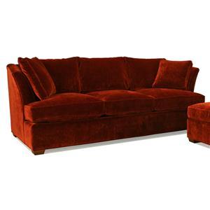 McCreary Modern 1060 Stationary Sofa with High Flair Arms