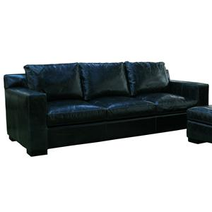 1095 Contemporary Three Seat Sofa with Thick Track Arms by McCreary Modern