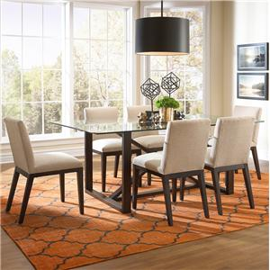 BeModern Argo Contemporary Dining Set