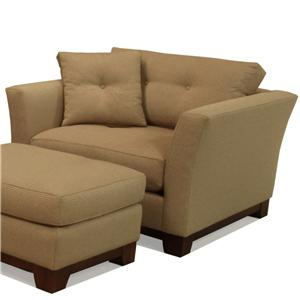 McCreary Modern 1260 Contemporary Arm Chair with Tufted Cushions
