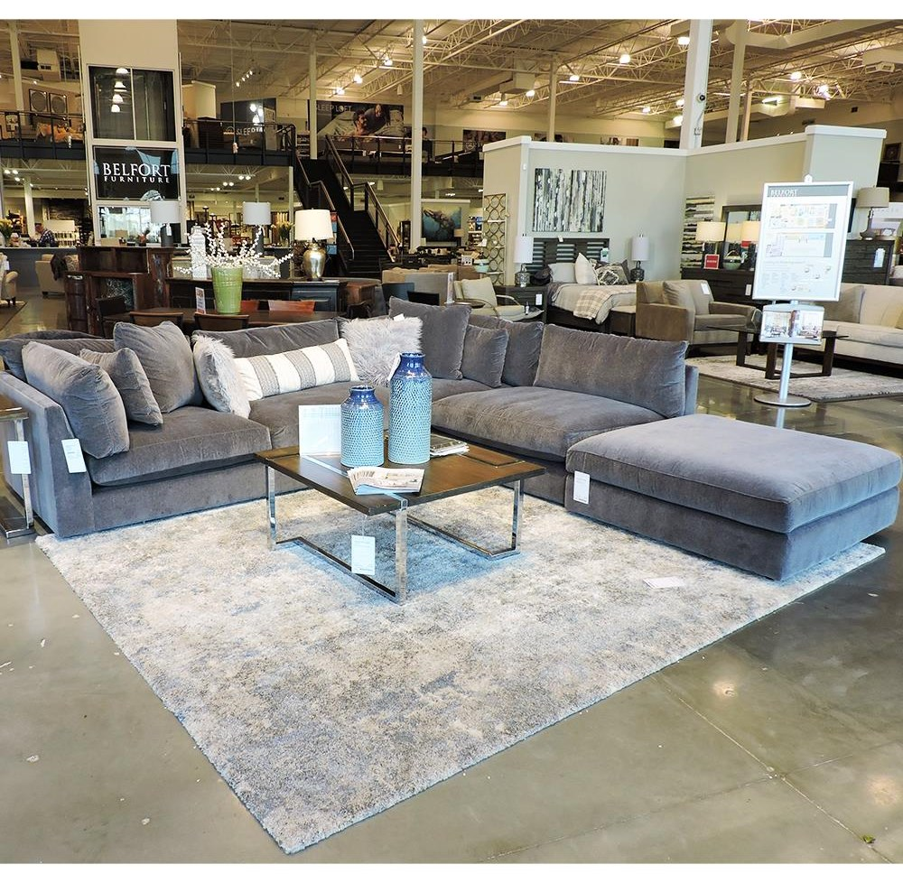Jarod Sectional by BeModern at Belfort Furniture