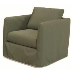 McCreary Modern 1293 Indoor/Outdoor Contemporary Slipcovered Sofa