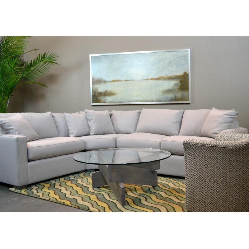 BeModern Bradley Sectional   Item Number: 1376 ELB+WEB+PRB Denver