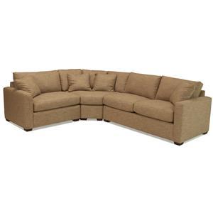 McCreary Modern 1376 Sectional Sofa