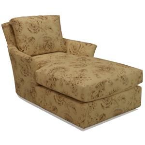 McCreary Modern 1392 Chaise with Flared Arms