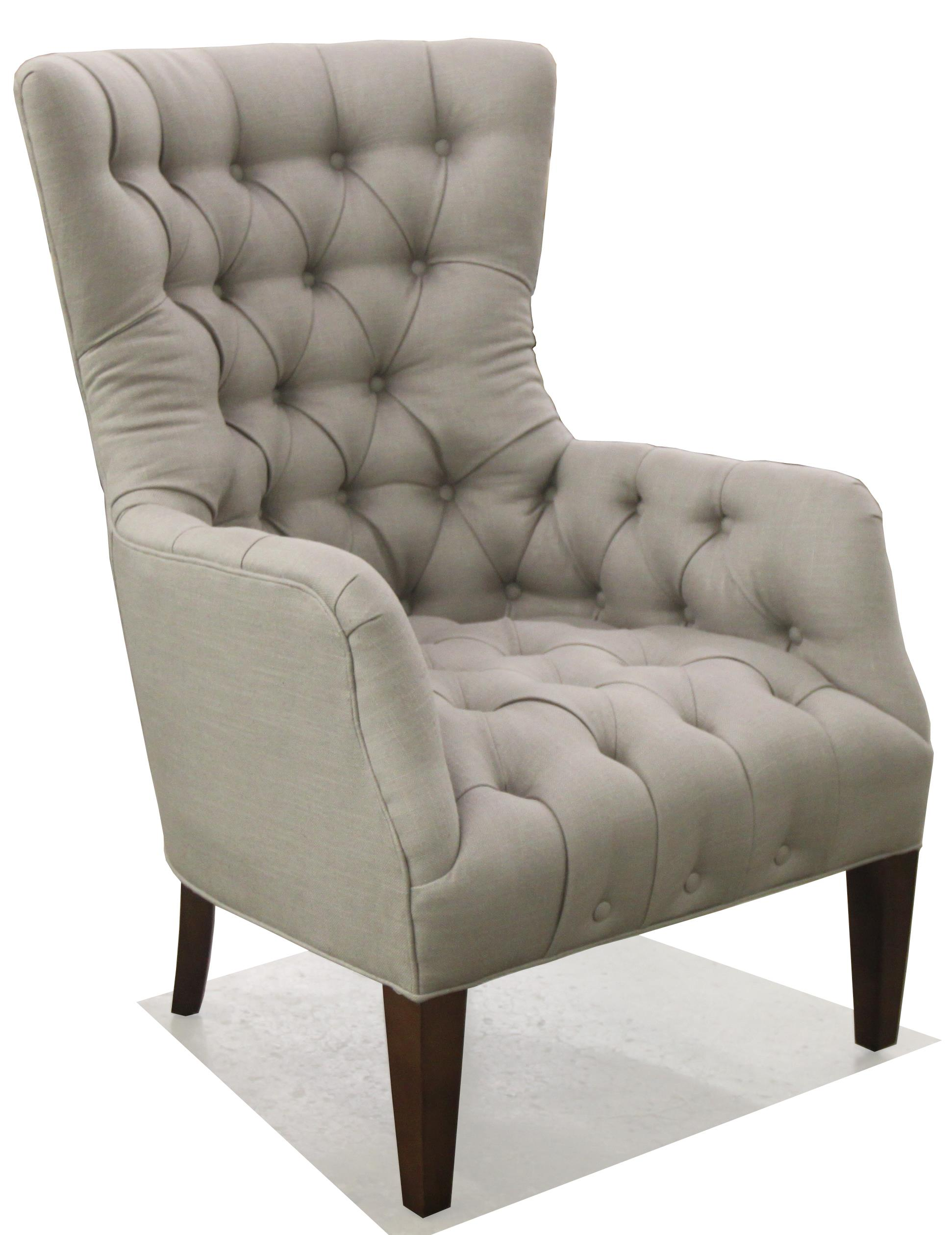 BeModern 1408 Button Tufted Chair - Item Number: 1408-CA