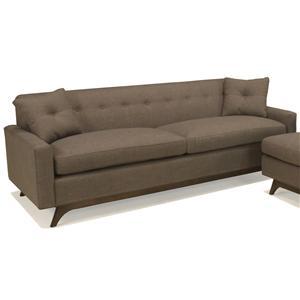 McCreary Modern 1482 Mid-Century Modern Sofa with Tufted Back