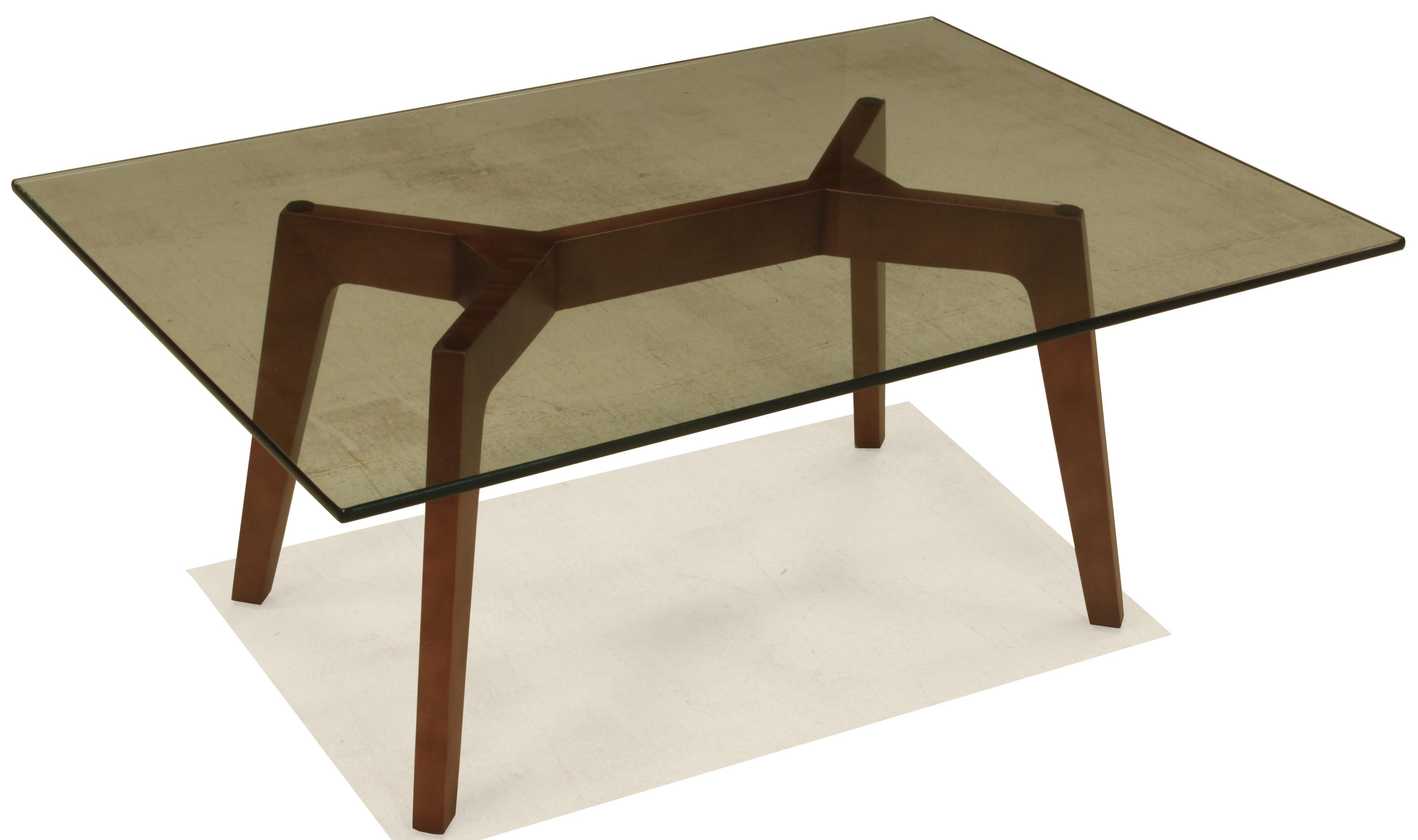 Kaia Rectangular Cocktail Table by BeModern at Belfort Furniture