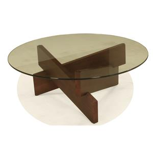 BeModern Kaia Round Cocktail Table