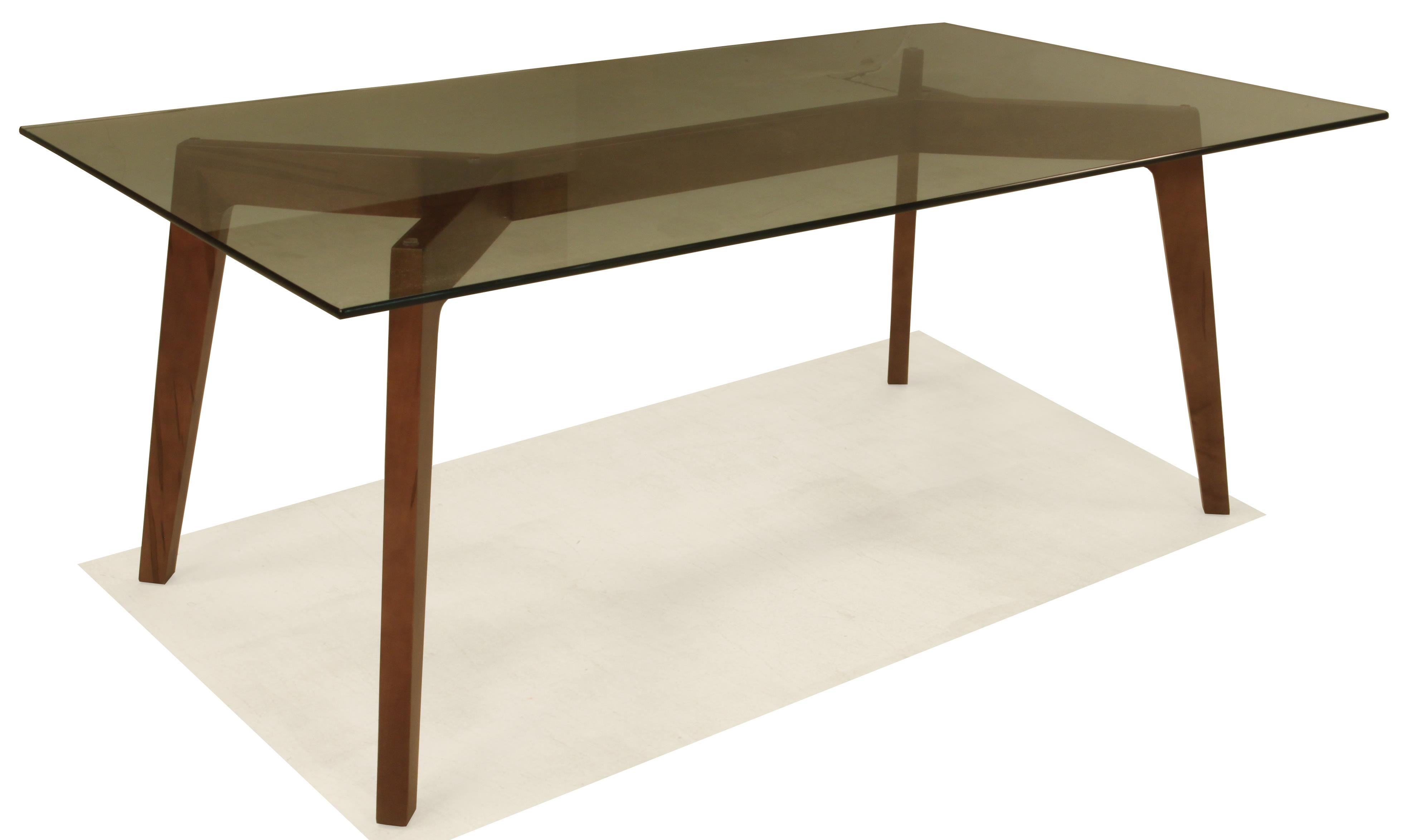 BeModern 15DT Dining Table with Glass Top - Item Number: 15DT-05