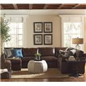 BeModern Bentley 1251 Sectional - Item Number: 0998-CLLB+LOLB+XRLB