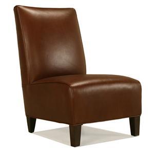 Mccreary Modern 813 Armless Stationary Chair With Wood
