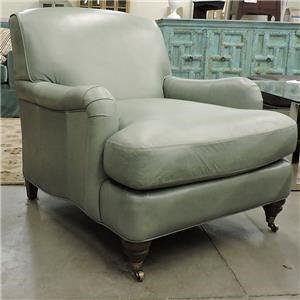 BeModern Clearance Upholstered Leather Chair