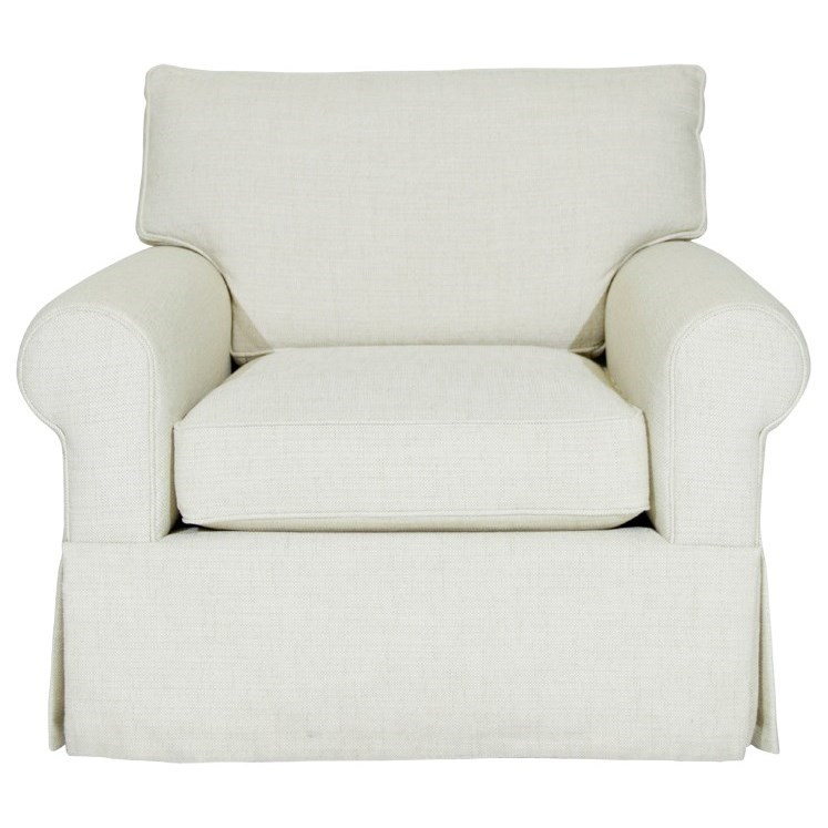 McCreary Modern Devin II Chair - Item Number: 60BS-CAB-Theater Cream