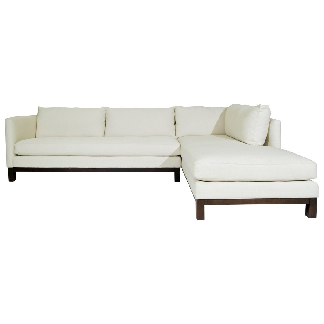 McCreary Modern Ethan Sectional - Item Number: 1061-SLB+DRB-Times Oyster