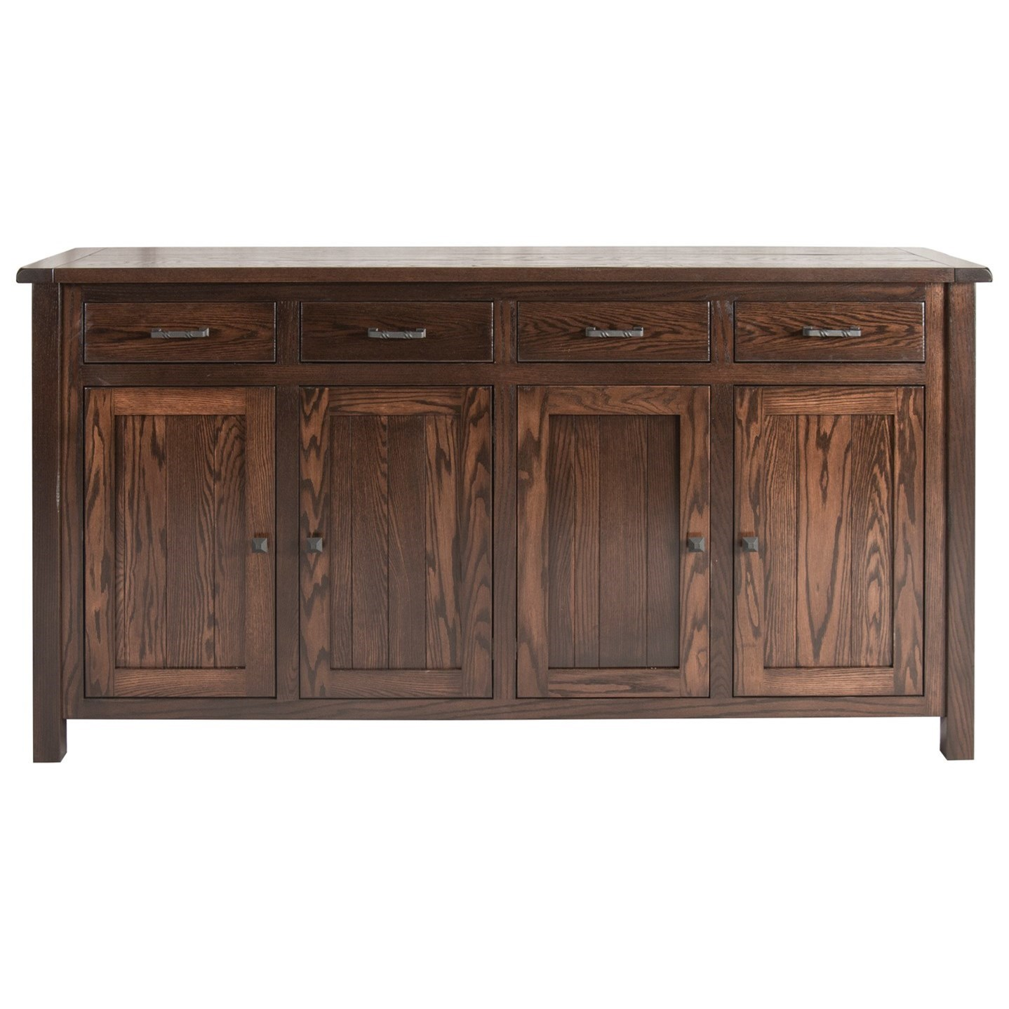 Adele Buffet with 4 Doors by Meadow Lane Wood at Saugerties Furniture Mart