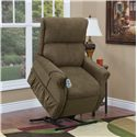 Med-Lift & Mobility 1175 Lift Recliner - Item Number: 1175 Encounter Mushroom