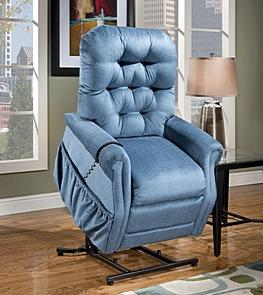 25 Series Standard Petite Lift Recliner by Med-Lift & Mobility at Mueller Furniture