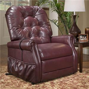 Med-Lift & Mobility 35 Series Medical Lift Recliner with Traditional Furniture Style