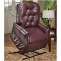 Med-Lift & Mobility 35 Series Medical Lift Recliner with Traditional Furniture Style - 3555