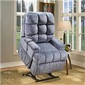 Med-Lift & Mobility 55 Series Casual Full Sleeper Lift Recliner - 5555
