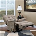 Med-Lift & Mobility 5500 Wall-Away Lift Recliner with Tufted Back - 5500 Stampede Mocha