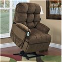 Med-Lift & Mobility 5500 Wall-Away Lift Recliner with Tufted Back - 5500 Vista Earth