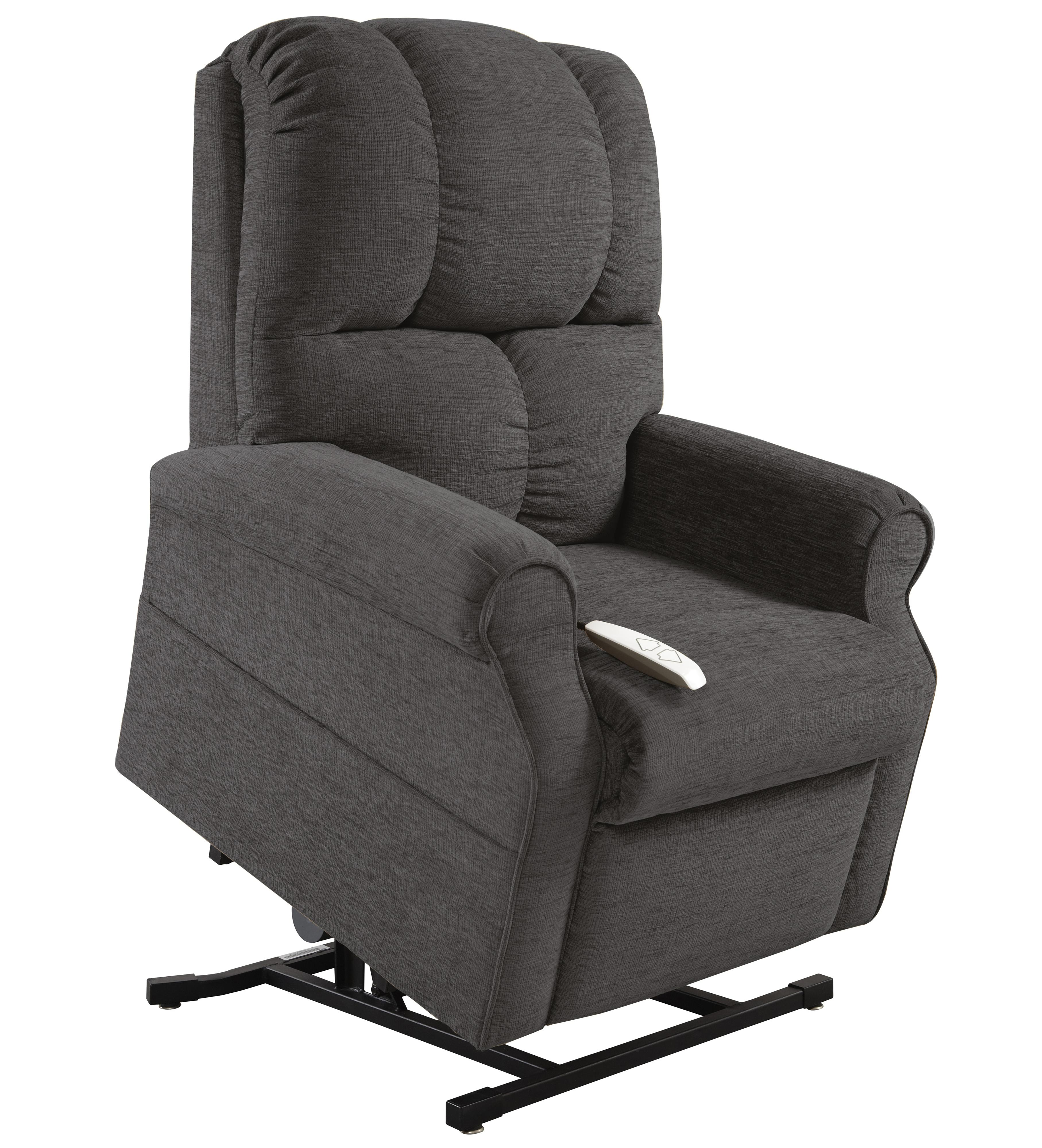 Windermere Lift Chairs 3-Position Reclining Lift Chair with Power - Item Number: AS-2001 Gun Metal