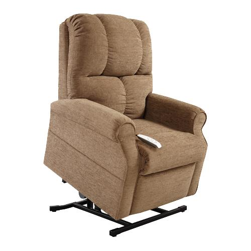 Mega Motion Lift Chairs 3-Position Reclining Lift Chair with Power - Item Number: AS-2001 Mushroom