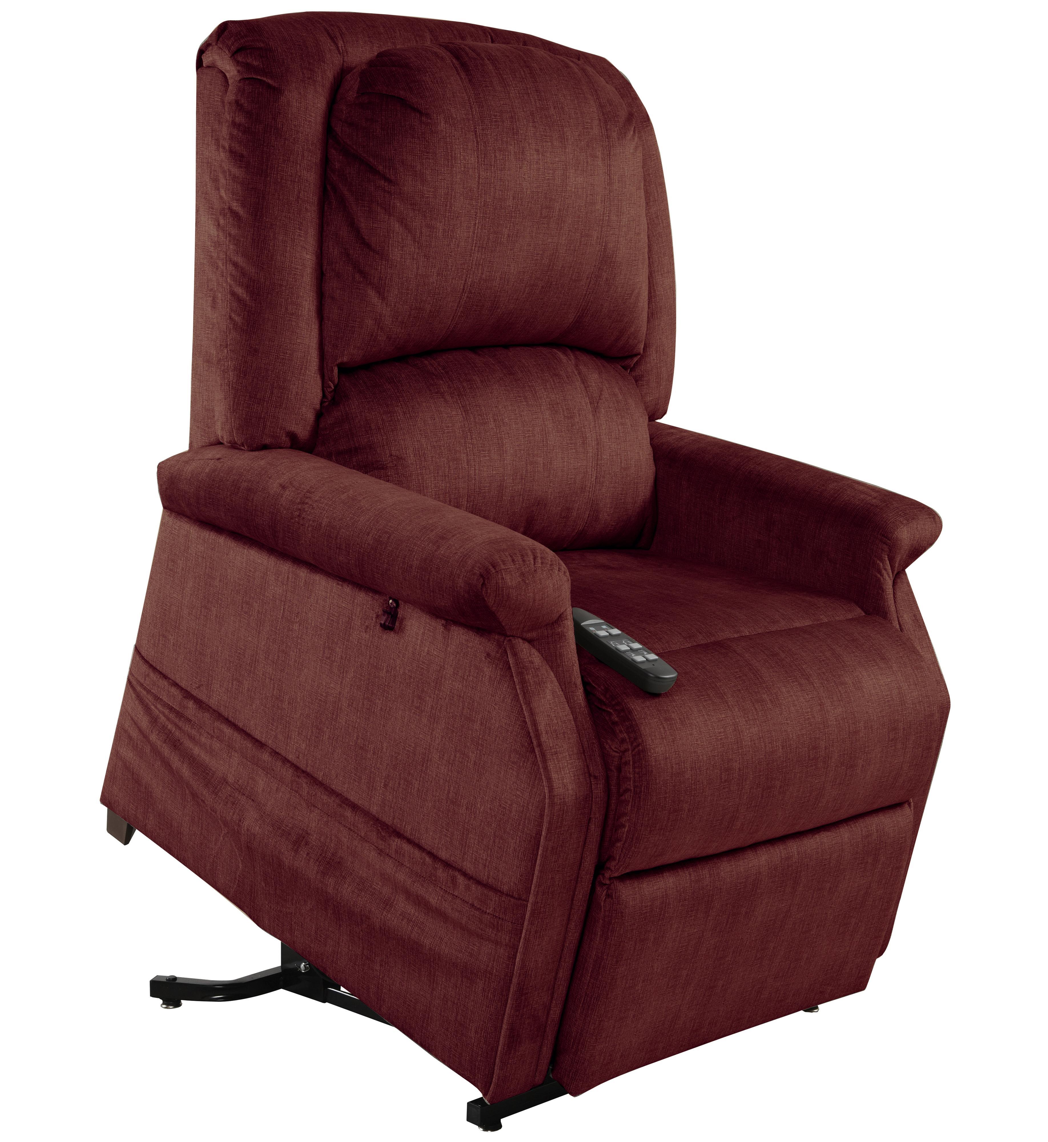 Mega Motion Lift Chairs Infinite Position Zero Gravity Recliner - Item Number: AS-3001 Bordeaux