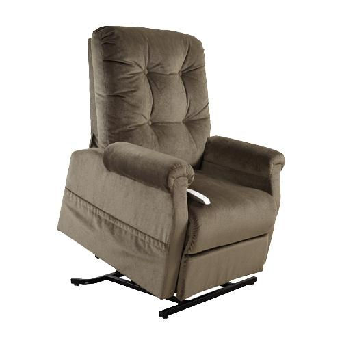 Mega Motion Lift Chairs 3-Position Reclining Lift Chair with Power - Item Number: AS-4001 Chocolate