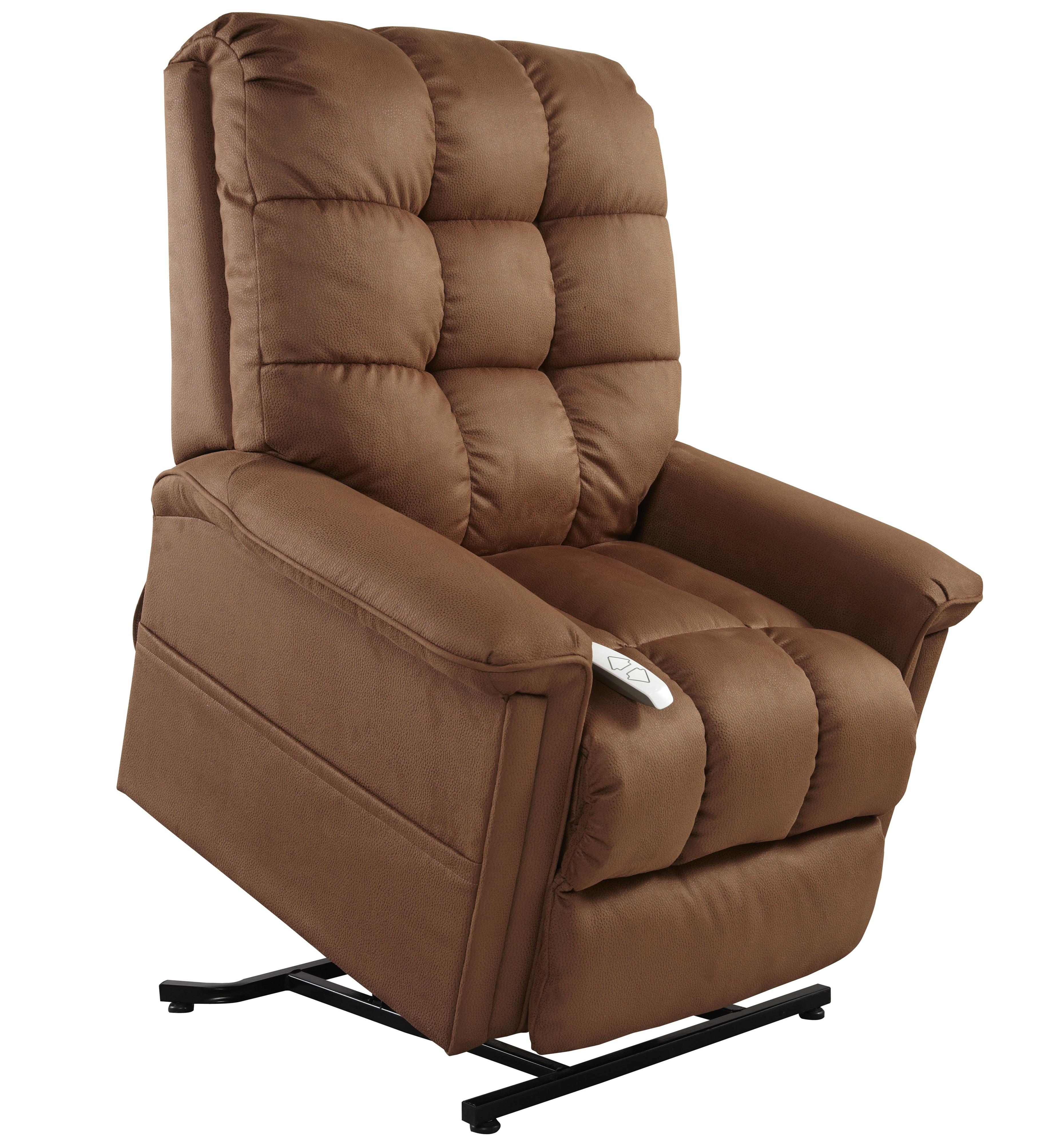 Mega Motion Lift Chairs 3-Position Reclining Lift Chair - Item Number: AS-5001 Rust