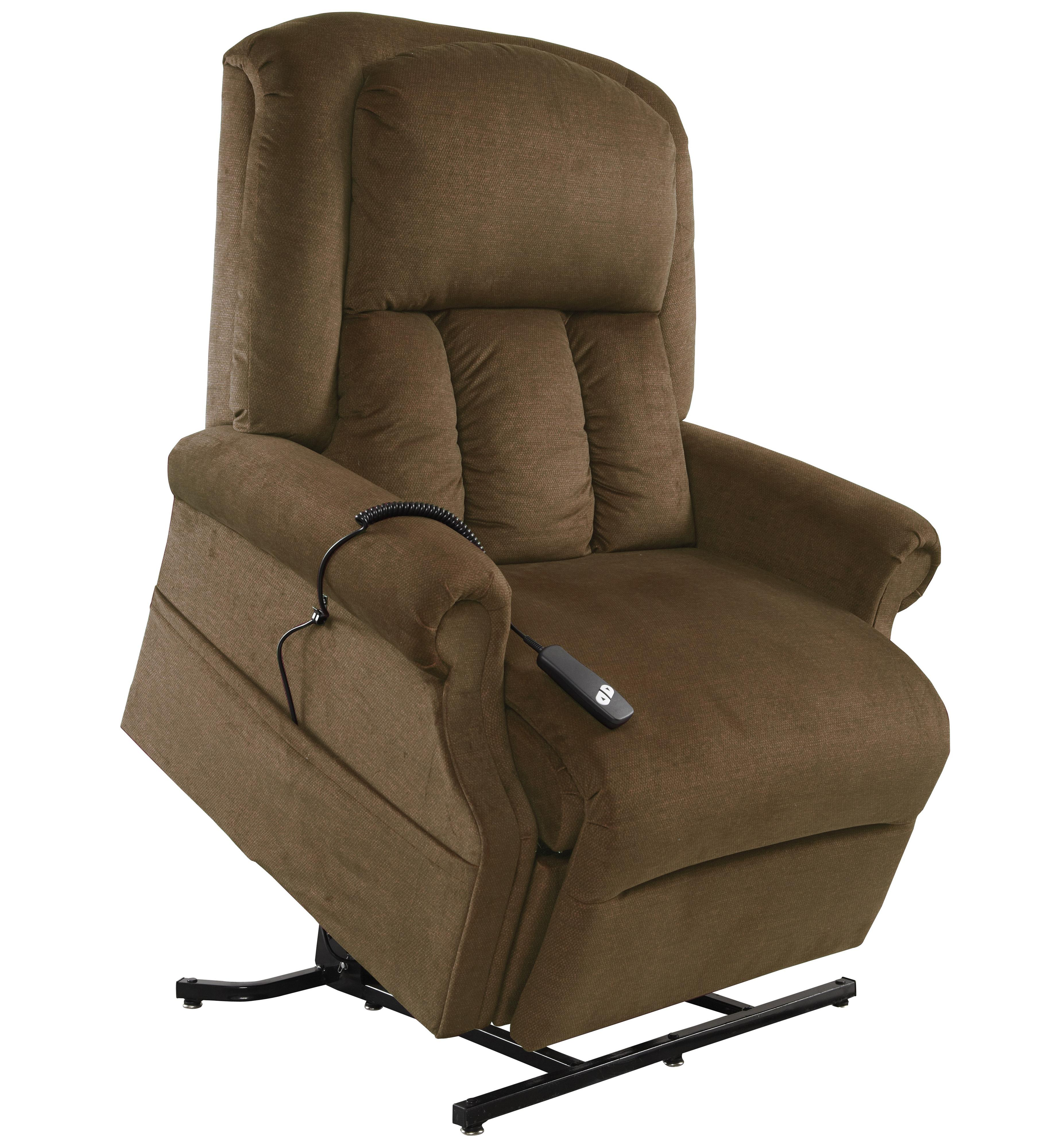 Windermere Motion Lift Chairs 3-Position Reclining Lift Chair with Power - Item Number: AS-7001 Walnut