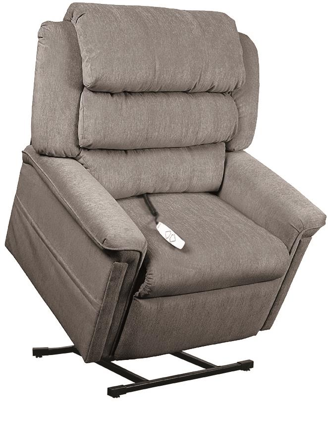 Windermere Motion Lift Chairs 3-Position Reclining Lift Chair - Item Number: NM-1450-Slate