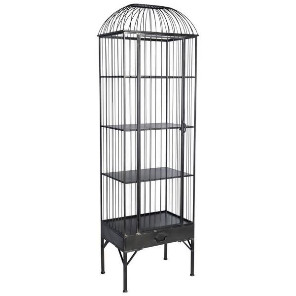 Mercana Ruby Gordon Accents Birdcage Display Cabinet   Item Number: MER 362
