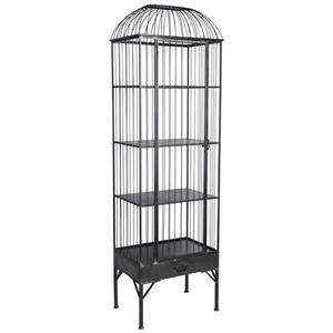 Mercana Ruby-Gordon Accents Birdcage Display Cabinet