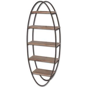 Mercana Ruby-Gordon Accents Oval Metal Wall Unit