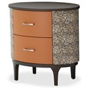 AICO - Michael Amini 21 Cosmopolitan Oval Bachelor's Chest - Item Number: 9029042-812