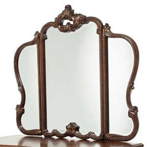 3 Panel Hinged Vanity Mirror