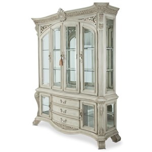Michael Amini Villa Di Como China Cabinet with Buffet