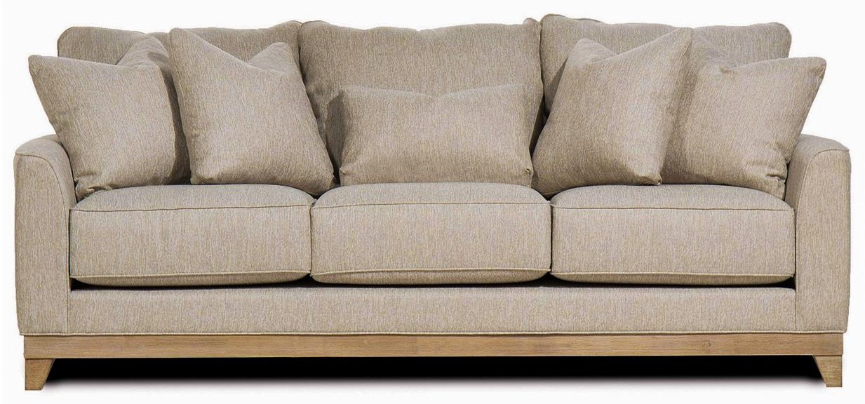 Brackley Whitman Mist Sofa by Michael Nicholas at Beck's Furniture