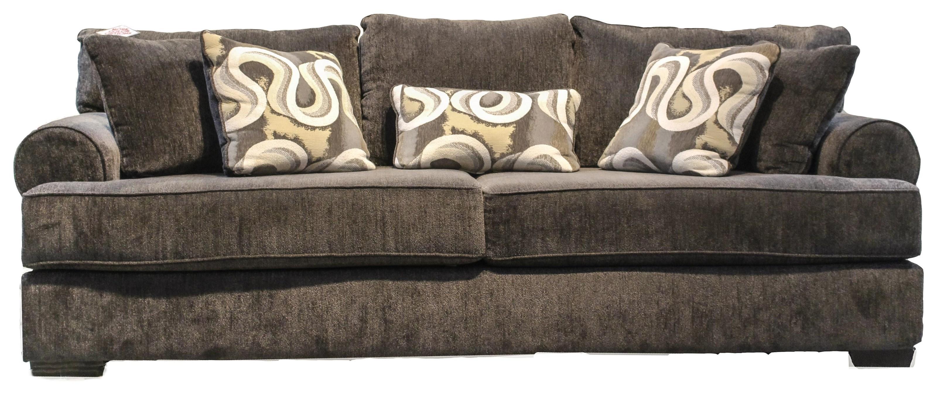 Camaro Champ Granite Sofa by Michael Nicholas at Beck's Furniture