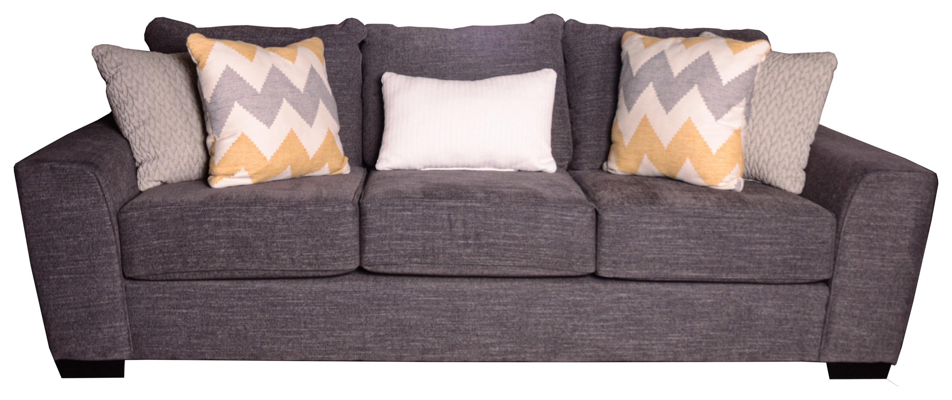 Desperado Curious Charcoal Sofa by Michael Nicholas at Beck's Furniture