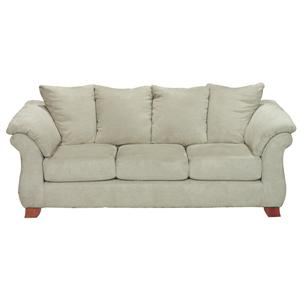 Shasta Contemporary Sofa with Flared Pillow Arms by Michael Nicholas