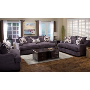 Michael Nicholas Spartan Stationary Living Room Group