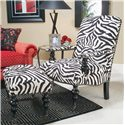 Michael Thomas 024 Chair - Shown with Ottoman