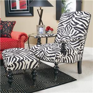 Michael Thomas 024 Chair and Ottoman