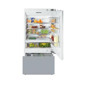 "Miele Bottom Mount Refrigerator - Miele 30"" KF1803 SF Bottom-Mount Fridge/Freezer"