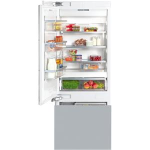 "Miele Bottom Mount Refrigerator - Miele 30"" KF1813 SF Bottom-Mount Fridge/Freezer"