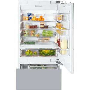 "Miele Bottom Mount Refrigerator - Miele 36"" KF1903 Vi Bottom-Mount Fridge/Freezer"